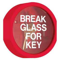 GLASS KEY CABINET